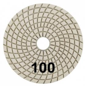 """Шлифовальный круг """"Черепашка"""" 100 мм №100. Trio-Diamond. Алмазный. Китай."""