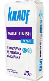 Шпаклевка белая цементная KNAUF Мульти-финиш. 25 кг. РФ.