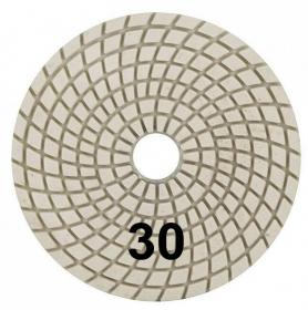 """Шлифовальный круг """"Черепашка"""" 100 мм №30. Trio-Diamond. Алмазный. Китай."""