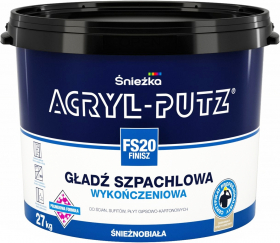 Acryl-Putz финиш. Польша, Sniezka. 27кг.