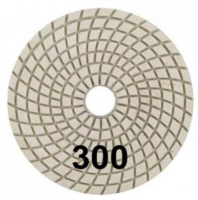 """Шлифовальный круг """"Черепашка"""" 100 мм №300. Trio-Diamond. Алмазный. Китай."""