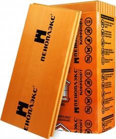 Пеноплэкс (РФ), толщина 2 см, цена за лист 1,185х0,585м.