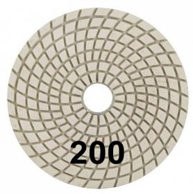"""Шлифовальный круг """"Черепашка"""" 100 мм №200. Trio-Diamond. Алмазный. Китай."""