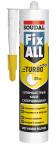 Soudal Fix All Turbo. Гибридный клей-герметик. 290 мл. Бельгия.