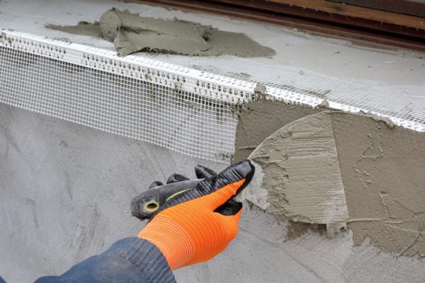 Оконные откосы из цементного раствора как сделать керамзитобетон для стяжки